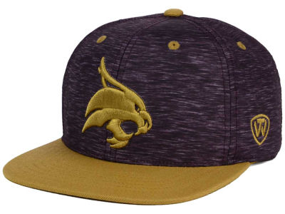 Texas State Bobcats Top of the World NCAA Energy 2Tone Snapback Cap