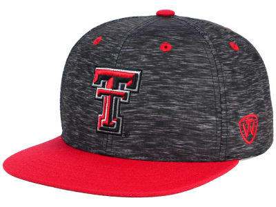 Texas Tech Red Raiders Top of the World NCAA Energy 2Tone Snapback Cap