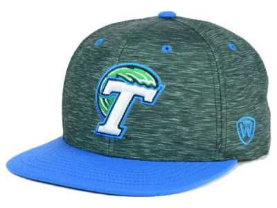 Tulane Green Wave Top of the World NCAA Energy 2Tone Snapback Cap