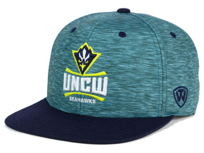 UNC Wilmington Seahawks Top of the World NCAA Energy 2Tone Snapback Cap