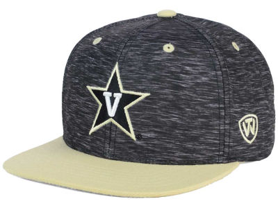 Vanderbilt Commodores Top of the World NCAA Energy 2Tone Snapback Cap