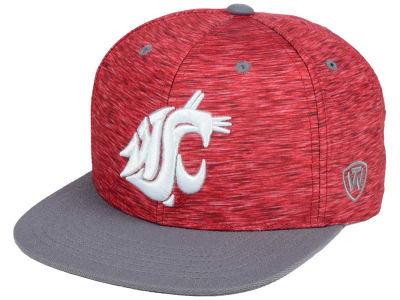 Washington State Cougars Top of the World NCAA Energy 2Tone Snapback Cap