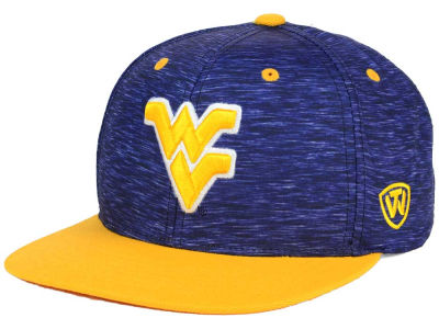 West Virginia Mountaineers Top of the World NCAA Energy 2Tone Snapback Cap