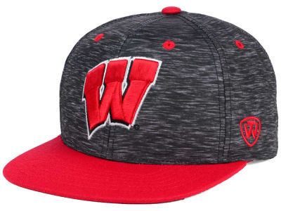 Wisconsin Badgers Top of the World NCAA Energy 2Tone Snapback Cap