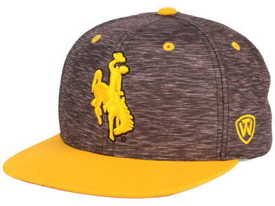 Wyoming Cowboys Top of the World NCAA Energy 2Tone Snapback Cap