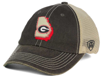 Georgia Bulldogs Top of the World NCAA United Flex Cap