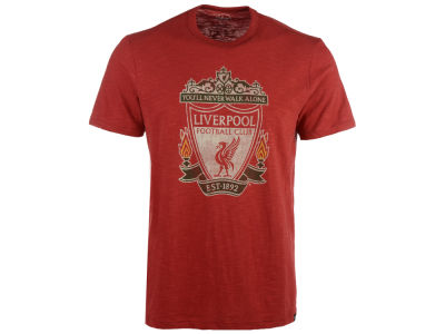 Liverpool FC '47 Club Team Men's Crest Scrum T-Shirt