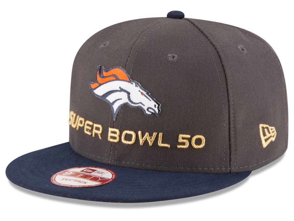 info for dbc26 85820 ... denver broncos new era nfl super bowl 50 opening night 9fifty snapback  cap