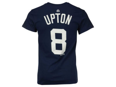 Detroit Tigers Justin Upton Majestic MLB Men's Official Player T-Shirt