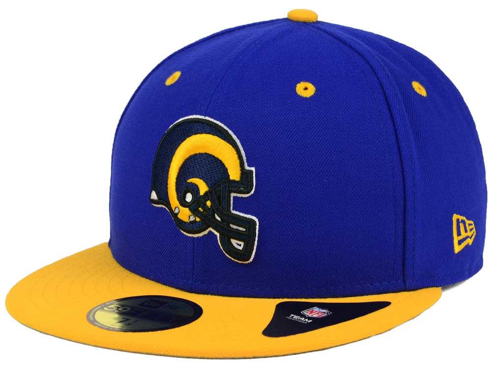 Los Angeles Rams New Era NFL 2 Tone 59FIFTY Cap  7949c1b54