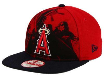 Los Angeles Angels New Era MLB Shadow Front 9FIFTY Snapback Cap