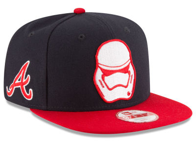 Atlanta Braves New Era MLB Pintrooper 2 9FIFTY Snapback Cap