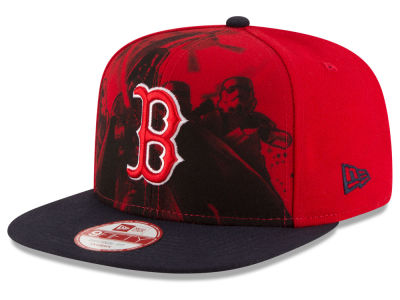 Boston Red Sox New Era MLB Shadow Front 9FIFTY Snapback Cap
