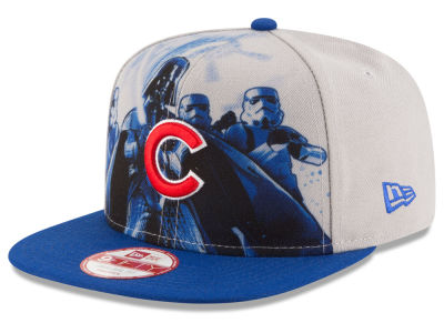 Chicago Cubs New Era MLB Shadow Front 9FIFTY Snapback Cap