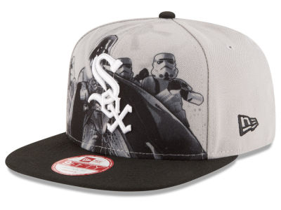 Chicago White Sox New Era MLB Shadow Front 9FIFTY Snapback Cap