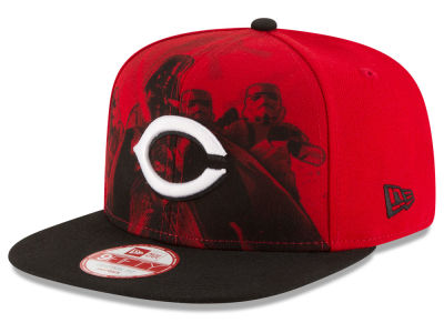 Cincinnati Reds New Era MLB Shadow Front 9FIFTY Snapback Cap