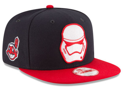 Cleveland Indians New Era MLB Pintrooper 2 9FIFTY Snapback Cap