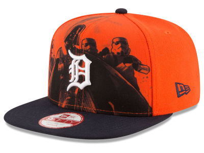 Detroit Tigers New Era MLB Shadow Front 9FIFTY Snapback Cap