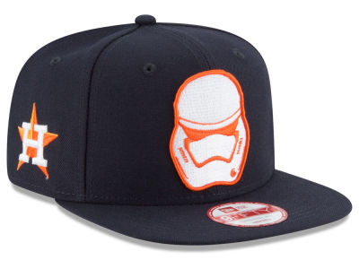 Houston Astros New Era MLB Pintrooper 2 9FIFTY Snapback Cap