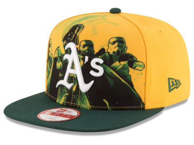 Oakland Athletics New Era MLB Shadow Front 9FIFTY Snapback Cap