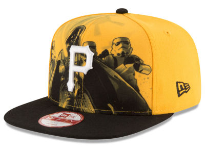 Pittsburgh Pirates New Era MLB Shadow Front 9FIFTY Snapback Cap