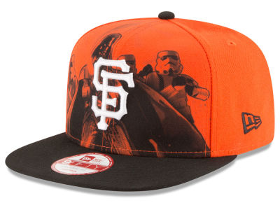 San Francisco Giants New Era MLB Shadow Front 9FIFTY Snapback Cap