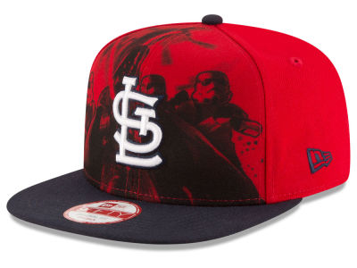 St. Louis Cardinals New Era MLB Shadow Front 9FIFTY Snapback Cap
