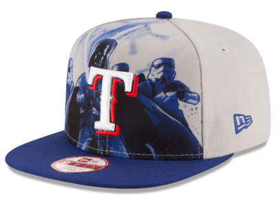 Texas Rangers New Era MLB Shadow Front 9FIFTY Snapback Cap