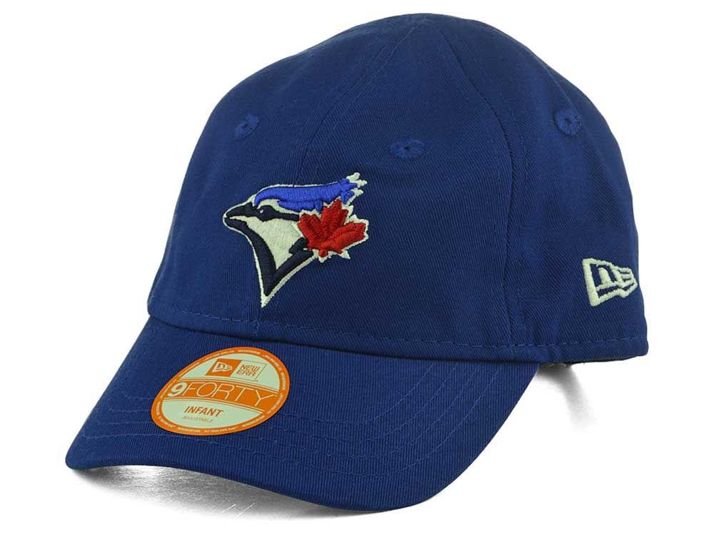 Toronto Blue Jays New Era MLB Infant My 1st 9FORTY Adjustable Cap ... de4b6f8999b