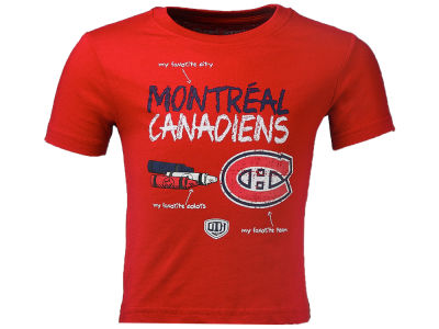 Montreal Canadiens NHL Child Doodle T-Shirt