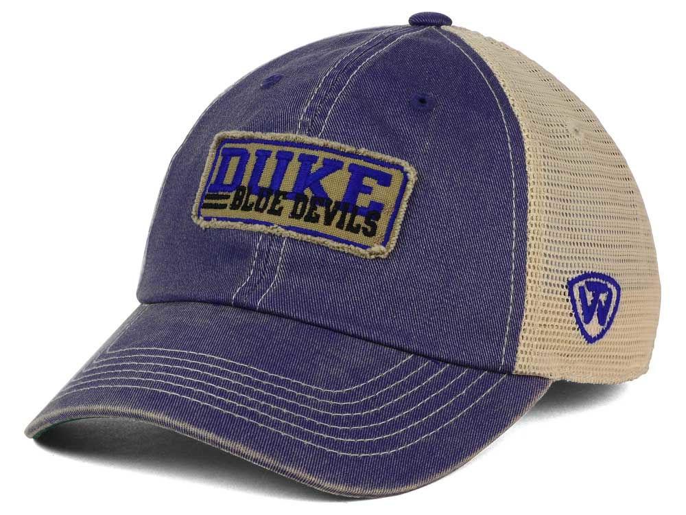buy online 672c9 c7fa9 ... hot duke blue devils top of the world ncaa roadtrip trucker cap 3ffc2  ff7d5