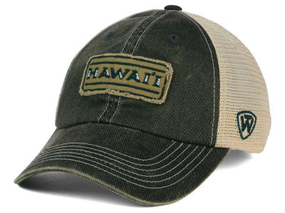 Hawaii Warriors Top of the World NCAA Roadtrip Trucker Cap