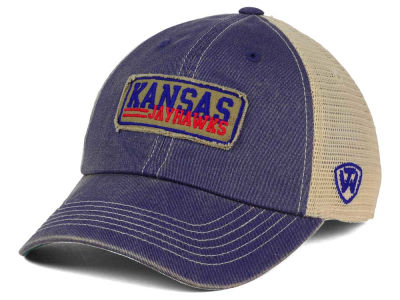 Kansas Jayhawks Top of the World NCAA Roadtrip Trucker Cap