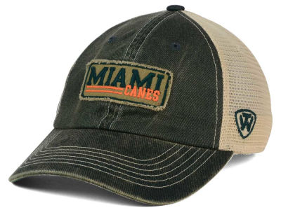 Miami Hurricanes Top of the World NCAA Roadtrip Trucker Cap