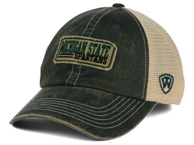 Michigan State Spartans Top of the World NCAA Roadtrip Trucker Cap