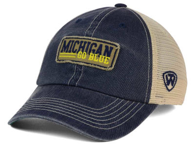 Michigan Wolverines Top of the World NCAA Roadtrip Trucker Cap
