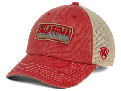 Oklahoma Sooners Top of the World NCAA Roadtrip Trucker Cap