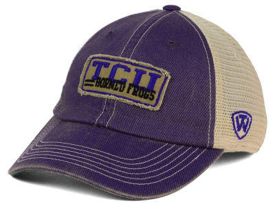 Texas Christian Horned Frogs Top of the World NCAA Roadtrip Trucker Cap