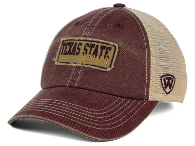 Texas State Bobcats Top of the World NCAA Roadtrip Trucker Cap