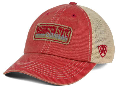 Washington State Cougars Top of the World NCAA Roadtrip Trucker Cap