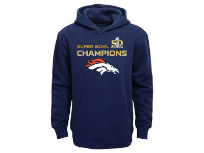 Denver Broncos Outerstuff NFL Youth Super Bowl Stacker Hoodie