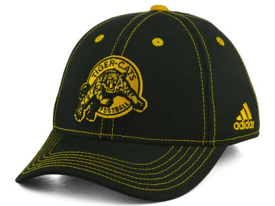 Hamilton Tiger-Cats adidas CFL Youth Structured Adjustable Cap