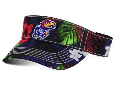 Kansas Jayhawks Top of the World NCAA Cove Visor