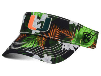 Miami Hurricanes Top of the World NCAA Cove Visor