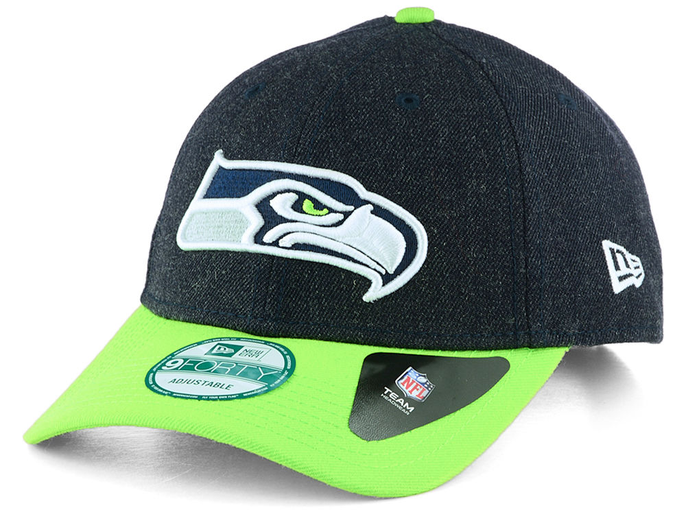 buy online 56970 2e91a ... sweden seattle seahawks new era nfl the league heather 9forty  adjustable cap c6257 88cbc
