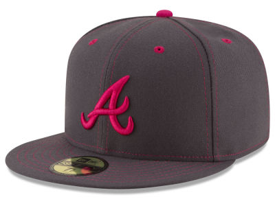 Atlanta Braves New Era 2016 MLB Mothers Day 59FIFTY Cap