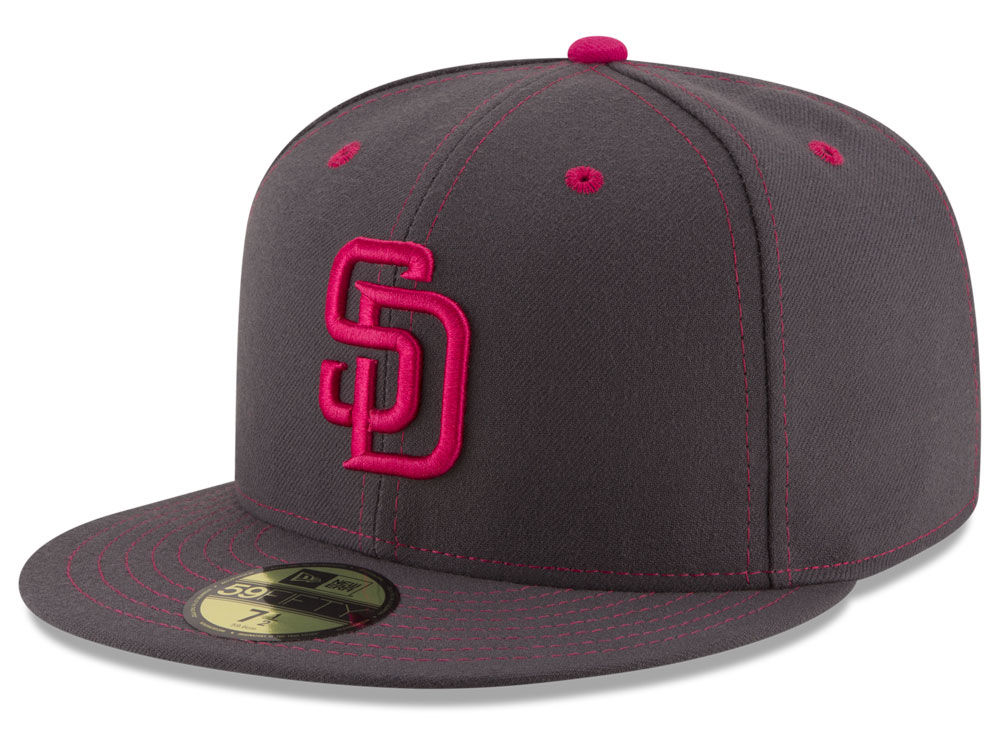 11aa28419ed San Diego Padres New Era 2016 MLB Mothers Day 59FIFTY Cap