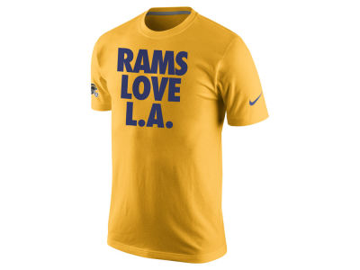Los Angeles Rams Nike NFL Men's Love LA T-Shirt
