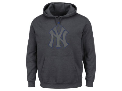 New York Yankees Majestic MLB Men's Platinum Pullover Hoodie