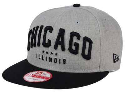 Chicago Heather Arch 9FIFTY Snapback Cap